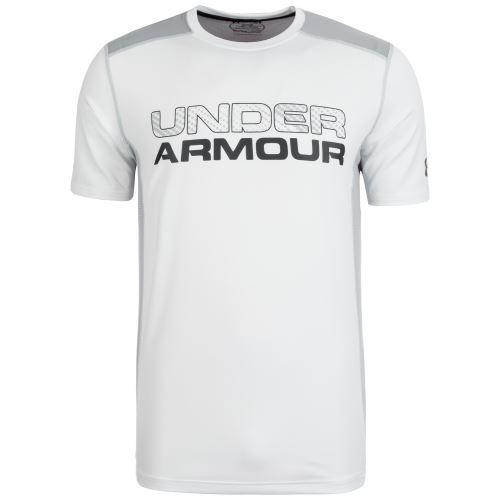 Pánské triko Under Armour Raid Graphic Bílé XS