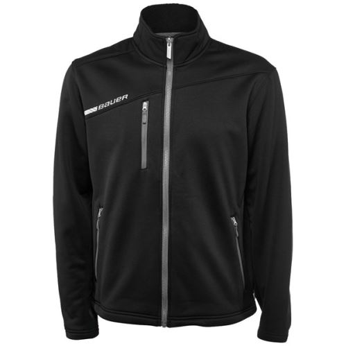 Mikina BAUER FLEX FZ TECH FLEECE SR-BLK