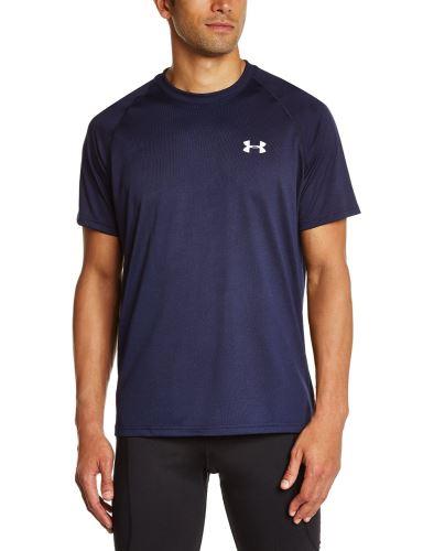 Pánske tričko Under Armour Tech tm.modré XS