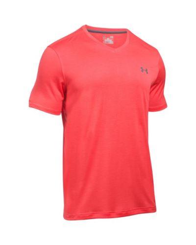 Pánske tričko Under Armour Tech V-NECK Signálna oranžová L