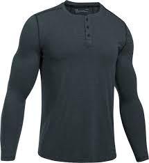 Pánske tričko Under Armour Threadborne Fitted KNT Henley 016