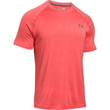 Pánske tričko Under Armour Tech Signálna oranžová S
