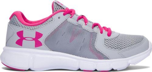 Dámské běžecké boty Under Armour Thrill 2 Šedo/růžové