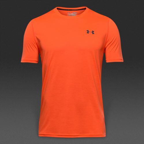 Pánske tričko Under Armour Threadborne Fitted Signálna oranžová XL