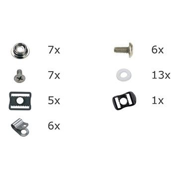 Přísl. masky - RP Goal Mask Hardware Kit