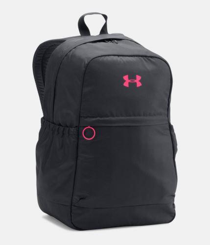 Dámský sportovní batoh Under Armour Favorite Černo/růžový