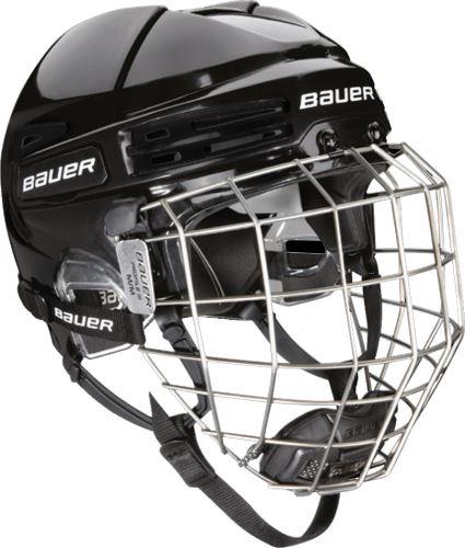 Seniorská hokejová helma BAUER RE-AKT 75 Combo Černá, S