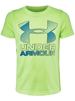 Dětské tričko Under Armour Big Logo Hybrid 2.0 752 YXS - XS