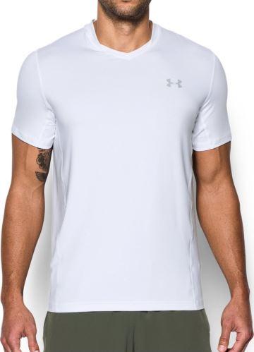 Pánske tričko Under Armour Supervent Fitted Biele