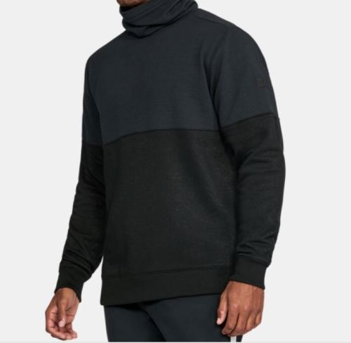 Pánská mikina Under Armour Channel Quilted Mock (rolák) 001