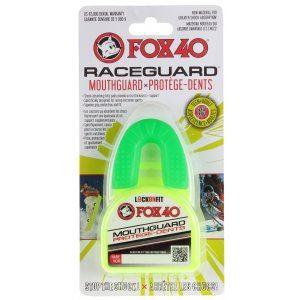 Chránič zubů FOX40 Raceguard zelený