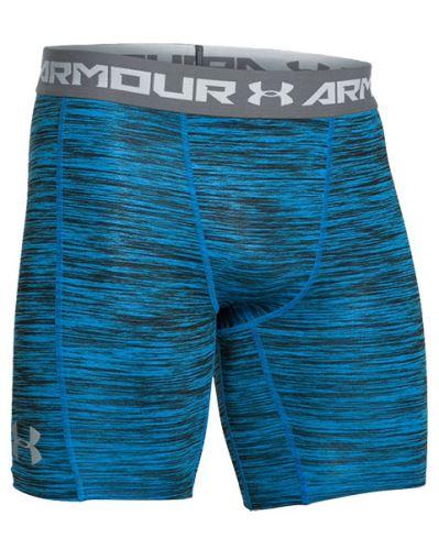 Pánske kompresné kraťasy Under Armour HeatGear Coolswitch Modré S