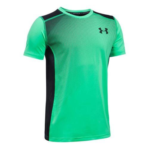 Dětské tričko Under Armour Select Zelené 300 YXS - XS
