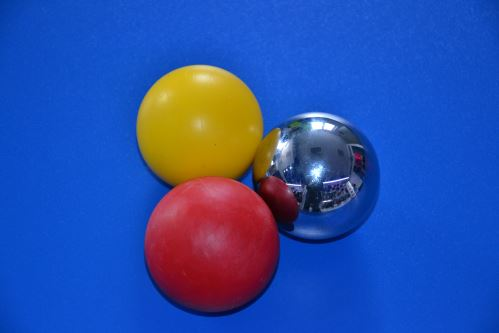 Sada guličiek pre tréning stickhandling - 3 Ball Set