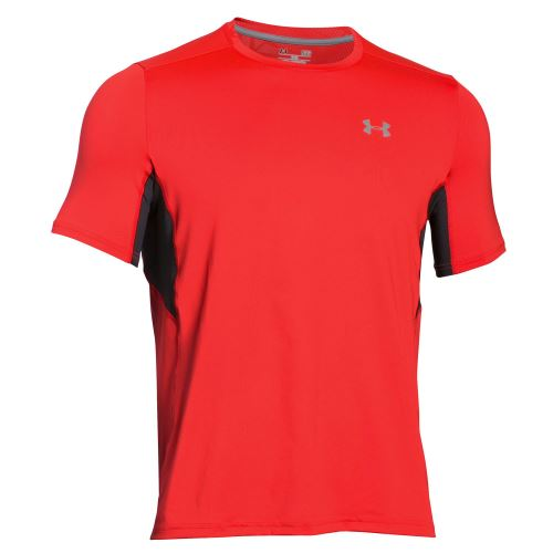 Pánské triko Under Armour Coolswitch RUN Signální oranžová S