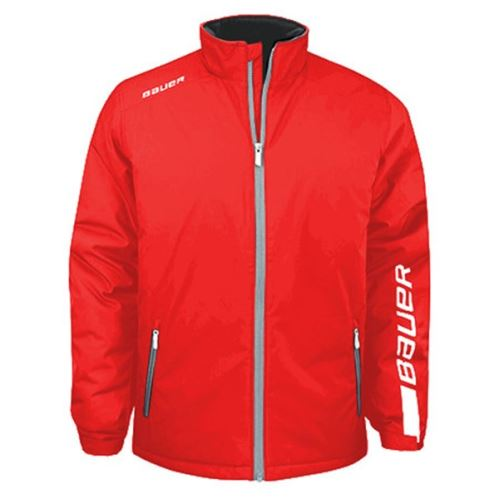 Bunda BAUER EÚ WINTER JACKET SR - RED