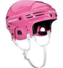 Dětská hokejová helma Bauer Prodigy Yth Růžová