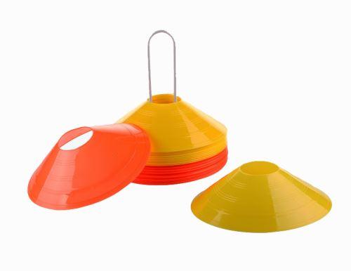 Vytyčovacie méty, sada 24ks (12ks oranžová +12 ks žltá)