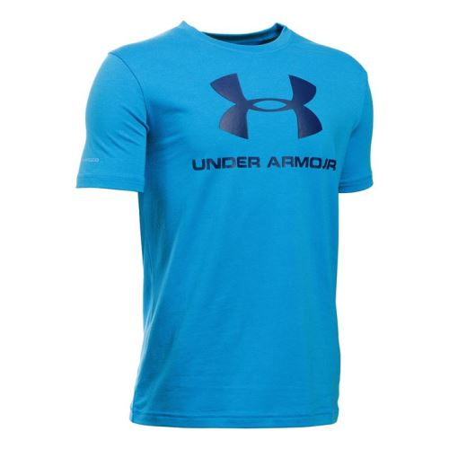 Dětské tričko Under Armour Sportstyle Logo Modré XS