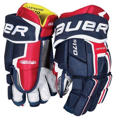 Juniorské hokejové rukavice BAUER Supreme S170 S-17 JR