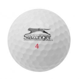 Golfová loptička SLAZENGER 1ks, veľkosť N. Biely